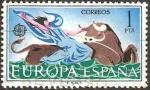 Sellos de Europa - España -  1747 - europa cept, el rapto de europa por zeus