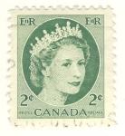 Sellos del Mundo : America : Canadá : Queen Elizabeth II