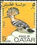 Sellos del Mundo : Asia : Qatar : Upupa epops