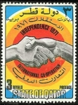 Stamps Asia - Qatar -  Independencia 1971