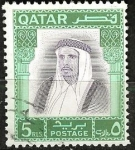 Stamps Asia - Qatar -  Jeque