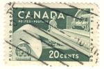 Sellos del Mundo : America : Canadá : Pulp and Paper