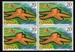 Sellos de Europa - España -  Fauna: Estrella de mar