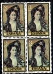 Stamps Spain -  Picasso: Sra Canals