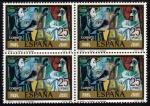 Stamps Spain -  Picasso: El pintor y la modelo