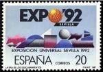Sellos de Europa - España -  España 1987 2875 Sello ** Exposición Universal Sevilla EXPO'92 Timbre Espagne Spain Spagna Espana Sp