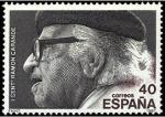 Sellos de Europa - España -  ESPAÑA 1987 2882 Sello Nuevo Centenario del nacimiento de Ramón Carande Yvert2519 Scott2521