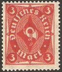 Stamps : Europe : Germany :  trompeta