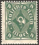 Stamps Germany -  trompeta
