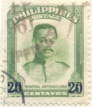 Sellos del Mundo : Asia : Filipinas : General Antonio Luna