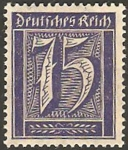 Stamps Germany -  168 - Cifra