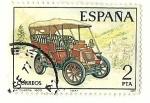 Stamps : Europe : Spain :  La cuadra 1900