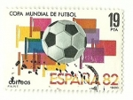 Stamps : Europe : Spain :  Copa Mundial de fútbol ´82