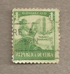 Stamps America - Cuba -  Tabaco habano
