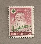Stamps Cuba -  Navidad 1954-55