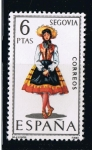 Sellos de Europa - España -  Trajes típicos  Segovia