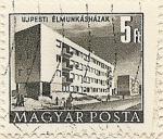Stamps Hungary -  UJPESTI ÉLMUNKÁSHÁZAK