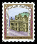 Stamps Austria -  Centro histórico de Viena