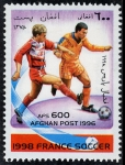 Stamps : Asia : Afghanistan :  Fútbol