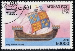 Stamps Afghanistan -  Barcos