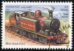 Stamps : Asia : Afghanistan :  Trenes