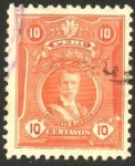 Sellos de America - Perú -  Augusto Bernardino Leguía y Salcedo -1862 - 1932 - Presidente de Perú en dos oportunidades.