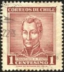 Sellos de America - Chile -  Francisco Antonio Pinto y Díaz de la Puente, fue una figura política de Chile, dos veces Presidente.