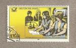 Stamps Germany -  Centro formación Correos y distribución periódicos