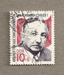 Stamps Germany -  Luis Corvalán