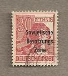 Stamps Germany -  Zona ocupación soviética