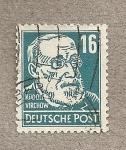 Stamps Germany -  Rudolf Wirchow, médico