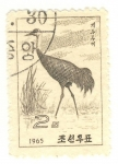 Stamps Asia - North Korea -  grulla