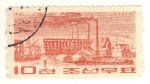 Stamps Asia - North Korea -  fabrica