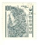 Stamps Asia - South Korea -  ilustracion