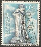 Stamps Spain -  1805 - Monumento a Colón en Huelva