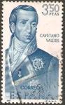 Sellos de Europa - España -  1825 - forjadores de america - cayetano valdes