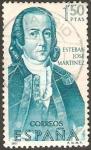 Sellos de Europa - España -  1823 - forjadores de América - esteban jose martinez