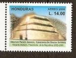 Sellos de America - Honduras -  ESTRUCTURA  MAYA