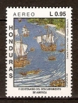 Stamps of the world : Honduras :  EMBARCACIONES  ESPAÑOLAS
