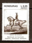 Stamps of the world : Honduras :  FRANCISCO  MORAZÁN