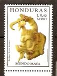 Stamps Honduras -  ESCULTURA  MAYA