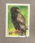 Stamps Tanzania -  Ave Terathopius ecaudatus