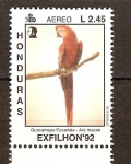 Stamps of the world : Honduras :  ARA  MACAO