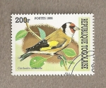 Stamps Africa - Togo -  Ave Carduelis carduelis