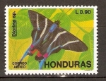 Stamps of the world : Honduras :  MARIPOSAS