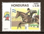 Stamps of the world : Honduras :  JUEGOS  PANAMERICANOS