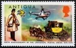 Stamps America - Antigua and Barbuda -  Union Postal Universal