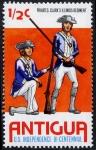 Sellos de America - Antigua y Barbuda -  Bicentenario de la independencia de EEUU