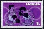 Stamps Antigua and Barbuda -  Juegos Olímpicos