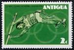 Sellos de America - Antigua y Barbuda -  Juegos Olímpicos